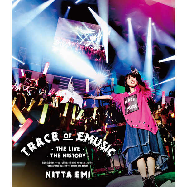 (BD)新田恵海 LIVE 「Trace of EMUSIC ~THE LIVE・THE HISTORY~ (数量限定生産盤)」