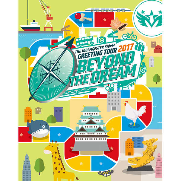 (BD)THE IDOLM@STER SideM GREETING TOUR 2017 ~BEYOND THE DREAM~ LIVE Blu-ray