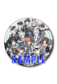 (CD)【特典】缶バッジ(76mm)((CD)アイドリッシュセブン Collection Album vol.1)