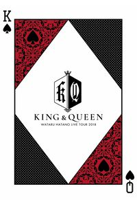 "(DVD)Wataru Hatano LIVE TOUR 2018 ""LIVE KING & QUEEN"" LIVE DVD"