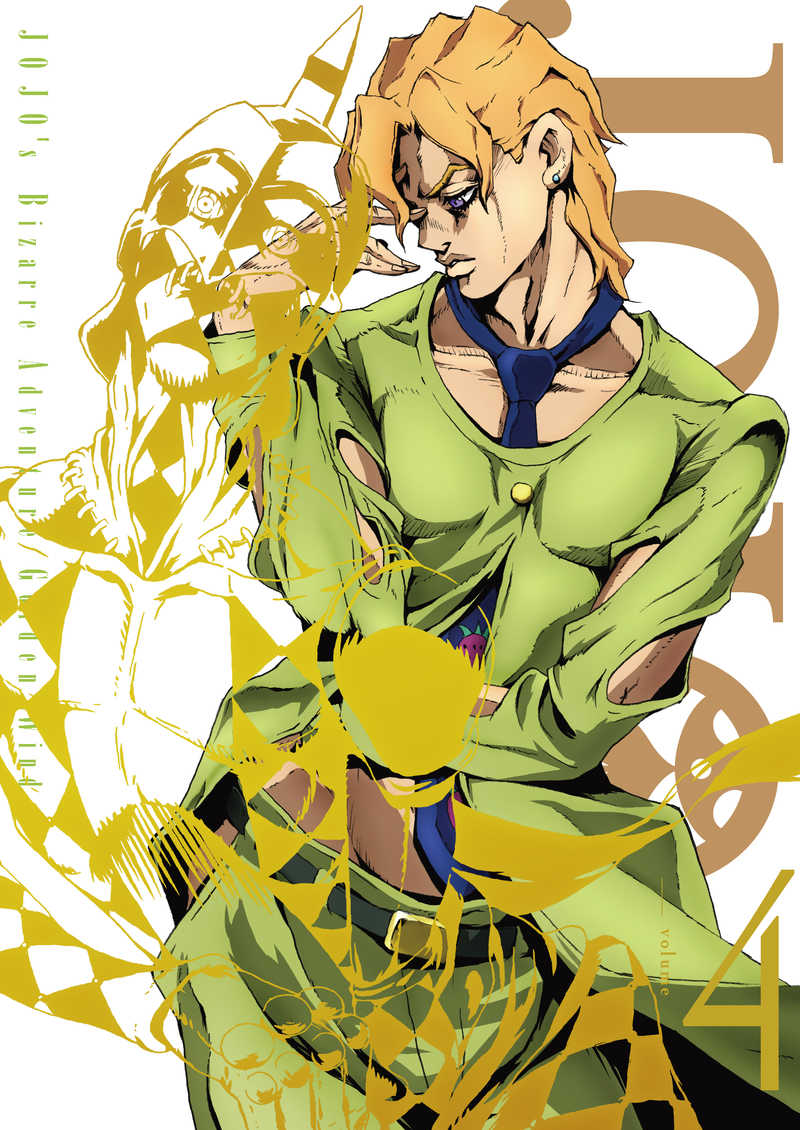 (BD)ジョジョの奇妙な冒険 黄金の風 Vol.4(初回仕様版)