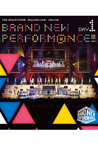 (BD)THE IDOLM@STER MILLION LIVE! 5thLIVE BRAND NEW PERFORM@NCE!!! LIVE Blu-ray DAY1