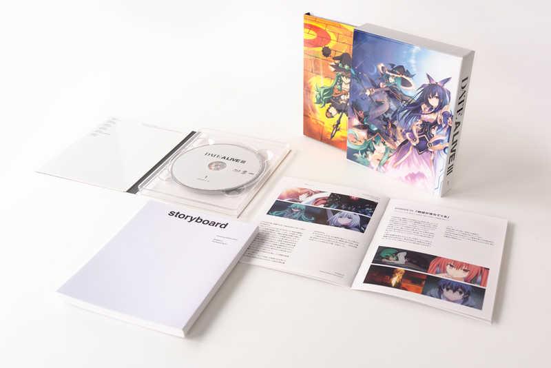 (BD)デート・ア・ライブIII とらのあな限定版Blu-ray BOX 上巻(時崎狂三1/7スケールフィギュア付き完全数量限定版)