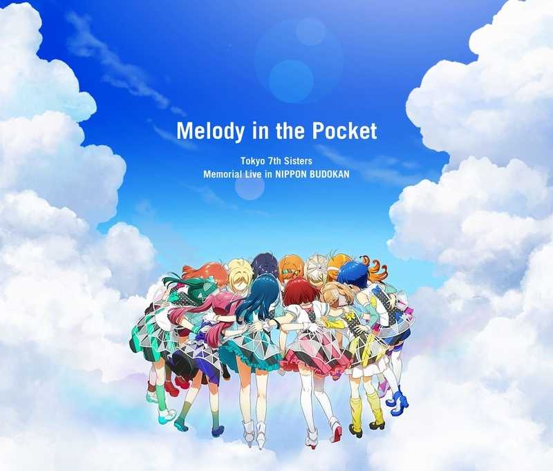 "(CD)Tokyo 7th Sisters Memorial Live in NIPPON BUDOKAN ""Melody in the Pocket"" (Live CD)"
