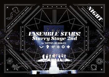 (BD)あんさんぶるスターズ!Starry Stage 2nd ~in 日本武道館~NIGHT盤