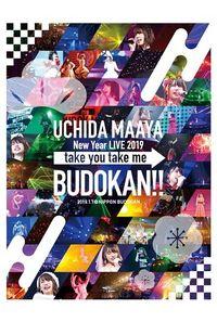 (BD)UCHIDA MAAYA New Year LIVE 2019「take you take me BUDOKAN!!」/内田真礼
