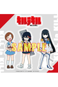 (CD)【特典】特製ステッカー(流子・皐月・マコ)(CD)キルラキル コンプリートサウンドトラック(通常盤)