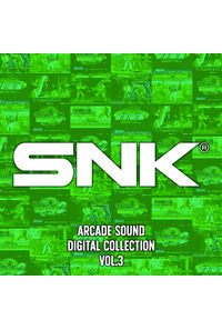 (CD)SNK ARCADE SOUND DIGITAL COLLECTION Vol.3