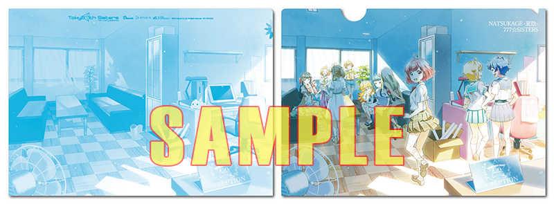 (CD)【特典】A4クリアファイル((CD)NATSUKAGE -夏陰-(初回限定盤)/777☆SISTERS)