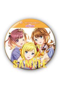 (CD)【特典】缶バッジ((CD)「ときめきアイドル」絆 -resonance-/ときめきアイドル project)
