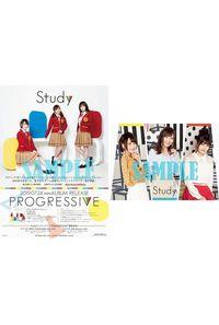 (CD)【特典】Study B2サイズ リバーシブルポスター((CD)「ぼくたちは勉強ができない」PROGRESSIVE(期間限定通常盤)/Study)