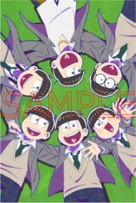 (BD/DVD)【特典】タペストリー((BD/DVD)えいがのおそ松さんBD/DVD赤塚高校卒業記念BOX)