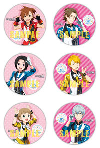 (BD)【特典】57mm缶バッジ6種セット(BD)THE IDOLM@STER SideM PRODUCER MEETING  315 SP@RKLING TIME WITH ALL!!! EVENT Blu-ray