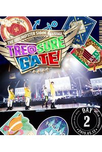 (BD)THE IDOLM@STER SideM 4th STAGE ~TRE@SURE GATE~ LIVE Blu-ray【DREAM PASSPORT (DAY2通常版) 】