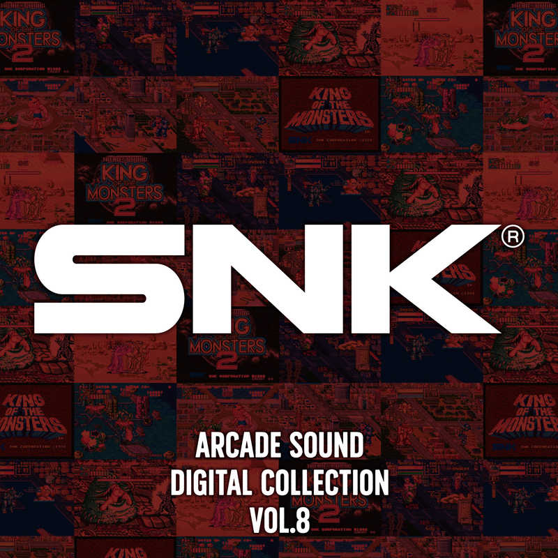 (CD)SNK ARCADE SOUND DIGITAL COLLECTION Vol.8