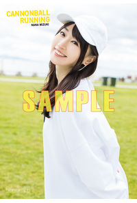(CD)【特典】ブロマイド((CD)CANNONBALL RUNNING(初回限定盤 BD付・DVD付)/水樹奈々)
