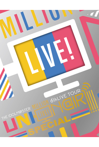 (BD)THE IDOLM@STER MILLION LIVE! 6thLIVE TOUR UNI-ON@IR!!!! LIVE Blu-ray SPECIAL COMPLETE THE@TER (完全生産限定)