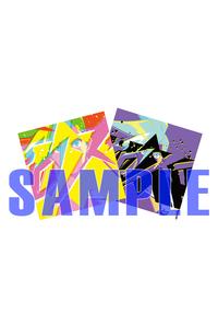 (OTH)【特典】ジャケット絵柄ステッカー(オリジナル & アナザー カラー)(OTH)「プロメア」オリジナルサウンドトラック(完全生産限定盤)(LP盤)