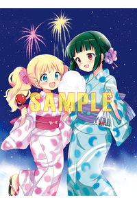 (BD)【特典】オリジナルB2布ポスター((BD)ハロー!!きんいろモザイク Blu-ray BOX)