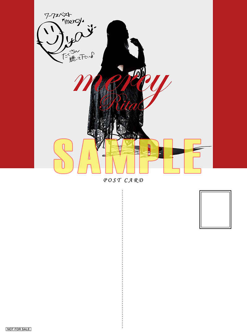 (CD)【特典】複製サイン&コメント入りポストカード((CD)mercy/Rita)