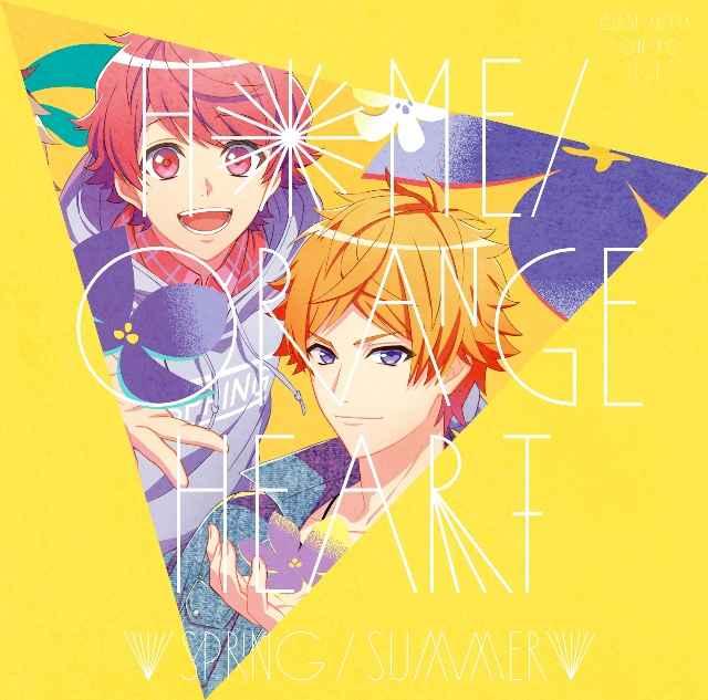 (CD)「『A3!』SEASON SPRING&SUMMER」エンディングテーマ Home/オレンジ・ハート