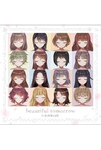 (CD)CUE! 02 Single「beautiful tomorrow」(初回限定盤)/AiRBLUE