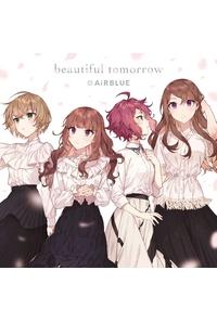 (CD)CUE! 02 Single「beautiful tomorrow」(通常盤)/AiRBLUE