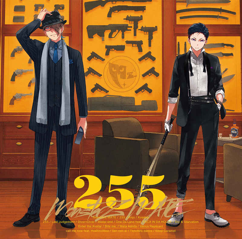 (CD)255(初回限定盤B)/MonsterZ MATE
