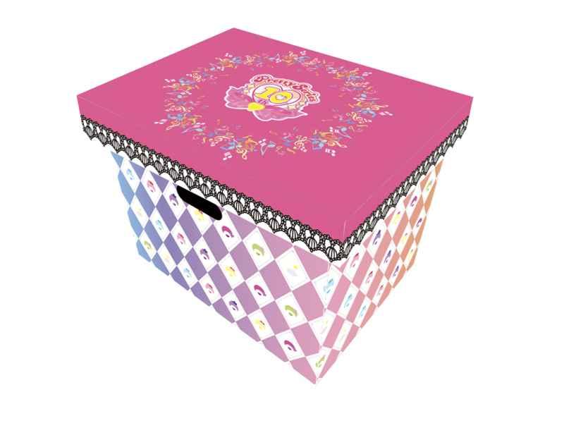 (OTH)プリティーシリーズ 収納BOX プリティーリズム・レインボーライブ