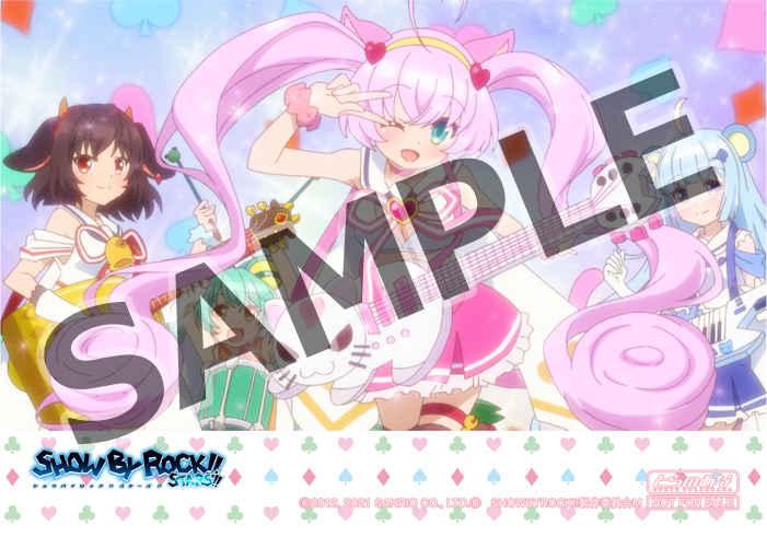 (CD)【特典】L判ブロマイド(CD)「SHOW BY ROCK!!STARS!!」挿入歌ミニアルバム Vol.1