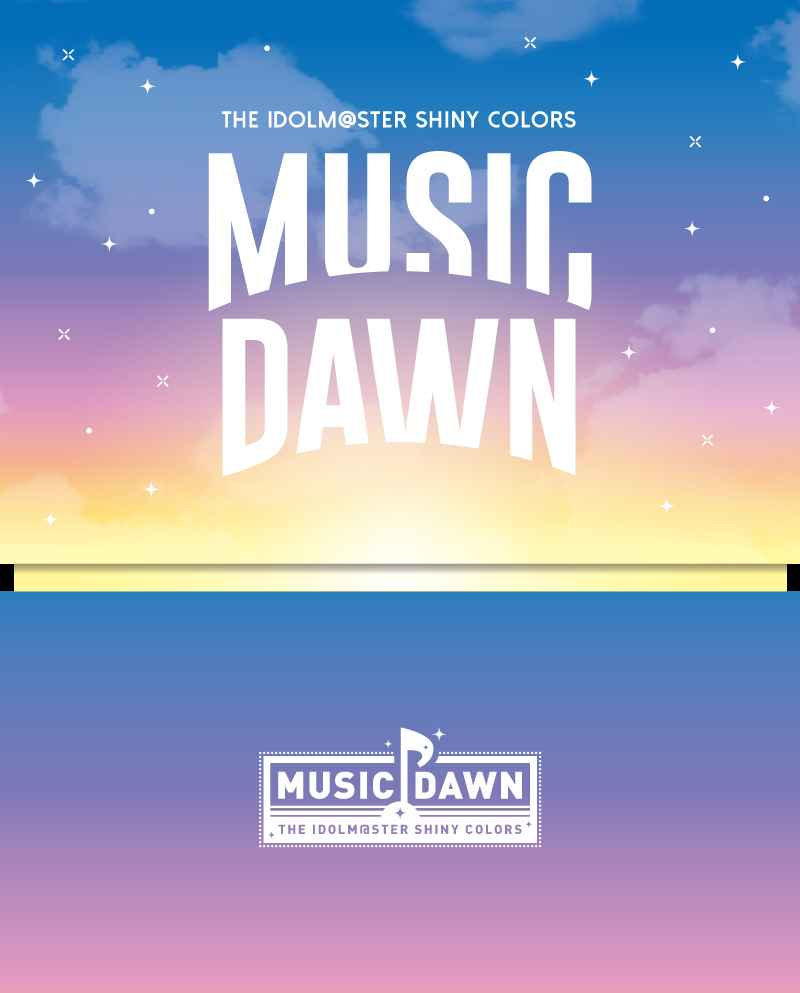 (BD)THE IDOLM@STER SHINY COLORS -MUSIC DAWN- Blu-ray (初回生産限定版)