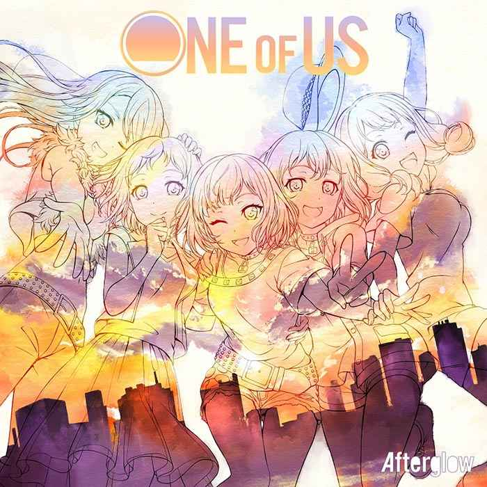 (CD)「BanG Dream!」ONE OF US(Blu-ray付生産限定盤)/Afterglow