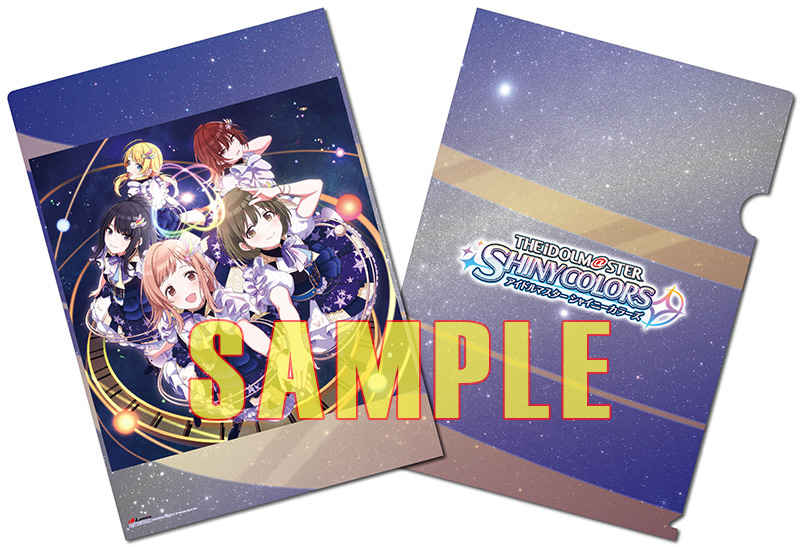 (CD)【特典】A4クリアファイル((CD)「アイドルマスター シャイニーカラーズ」THE IDOLM@STER SHINY COLORS L@YERED WING 01)