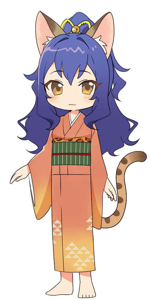 (OTH)ねこぐらし。 ラバーキーホルダー ベンガル猫