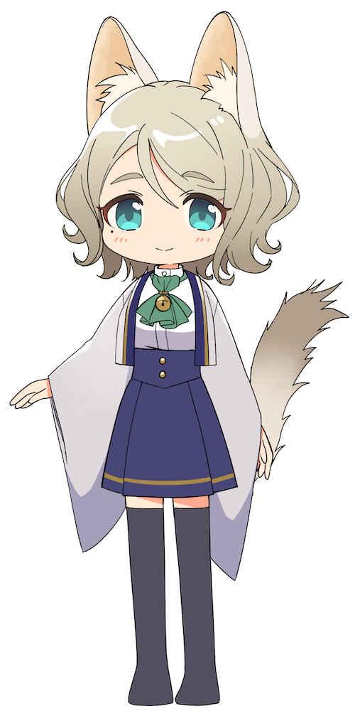 (OTH)ねこぐらし。 ラバーキーホルダー チンチラ猫