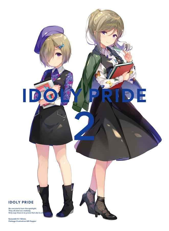 (DVD)IDOLY PRIDE 2 アクリルキャラクタースタンド・ブロマイド付き特装版 (完全生産限定)