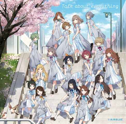 (CD)「CUE!」Talk about everything(初回限定盤)/AiRBLUE