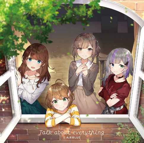 (CD)「CUE!」Talk about everything(通常盤)/AiRBLUE