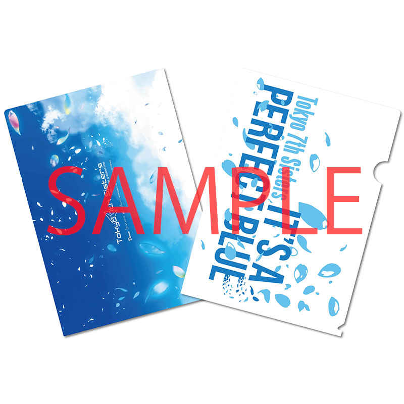 (CD)【特典】A4クリアファイルB((CD)Tokyo 7th シスターズ 4thアルバム IT'S A PERFECT BLUE (プレミアムボックス・初回限定盤・通常盤))
