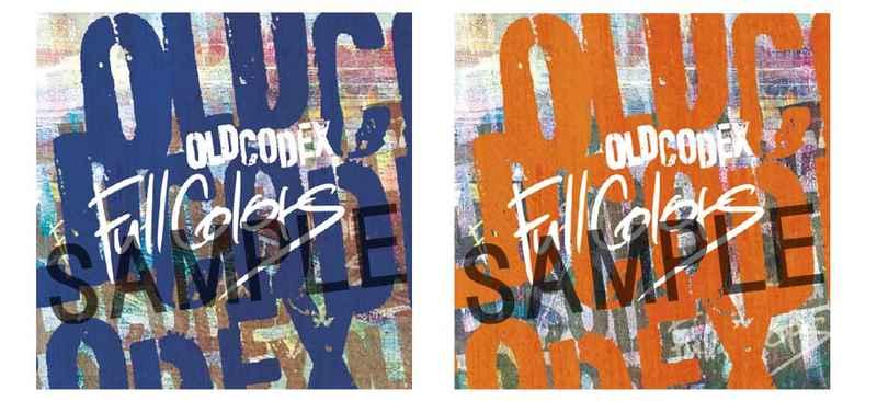 (CD)【特典】ステッカーセット ((CD)Full Colors(初回限定盤/通常盤)/OLDCODEX)