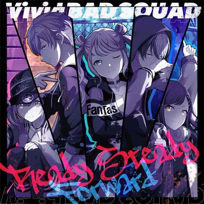 (CD)「プロジェクトセカイ カラフルステージ! feat. 初音ミク」Ready Steady/Forward/Vivid BAD SQUAD
