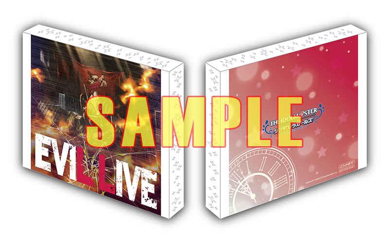 (CD)【特典】三方背スリーブケース(CD)THE IDOLM@STER CINDERELLA GIRLS STARLIGHT MASTER GOLD RUSH! 08 EVIL LIVE