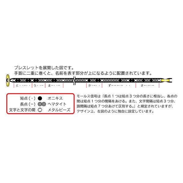 アクアプラス WHITE ALBUM2 モールスコード・ラップブレスレット かずさ