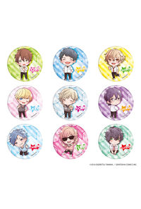 A3 缶バッジ「ヤリチン☆ビッチ部」01 PACK