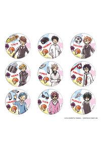 A3 缶バッジ「ヤリチン☆ビッチ部」01(グラフアートデザイン) BOX