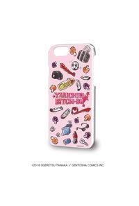 A3 ハードケース(iPhone6/6s/7兼用)「ヤリチン☆ビッチ部」01/モチーフデザイン(グラフアートデザイン)