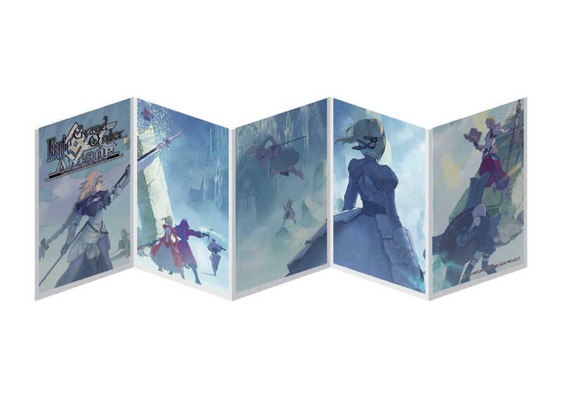 セガ・インタラクティブ 『Fate/Grand Order Arcade』5連スリーブ(コンセプトアート)