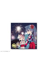 カナリア 「ゆるキャン△」マイクロファイバーハンドタオル 01(なでしこ&リン)