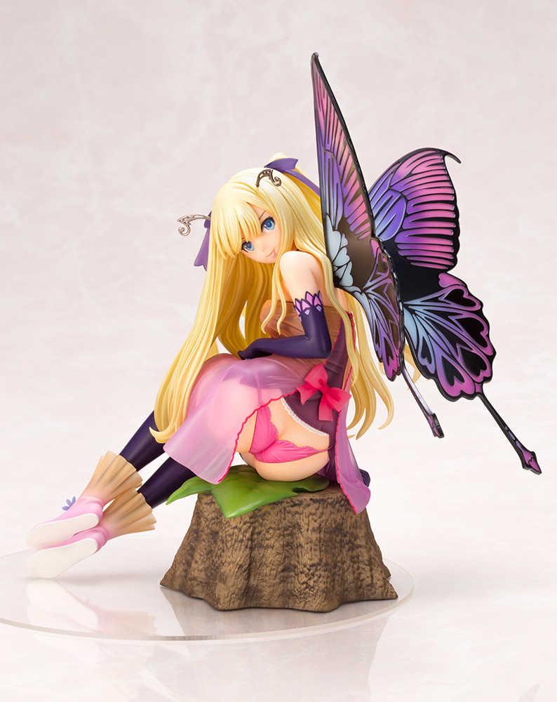 コトブキヤ 4-Leaves Tony'sヒロインコレクション 紫陽花の妖精 アナベル 完成品