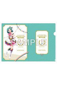 Gift アイドルマスター ミリオンライブ! A4クリアファイル 徳川まつり ヌーベル・トリコロール ver.